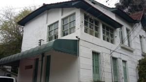 Vista geral do Casarão, antiga sede da Fazenda
